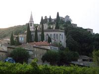 Village de Barjac vacances gard vaucluse