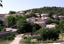 Vue du village de Bidon