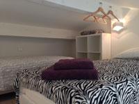 Chambre mezzanine vue 2