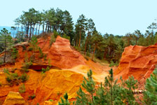 Le colorado Provençale, Chemin des ocres de Roussillon