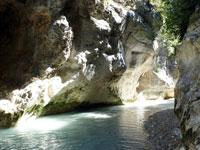 Randonnée dans les gorges de Toulourenc