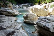 Cascades dans les gorges de Toulourenc