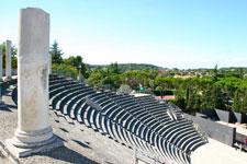 Ruine romaine antique vaison la romaine location de vacances gite vaucluse